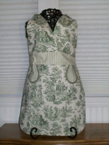 Ellie green toile