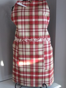 Collette red plaid