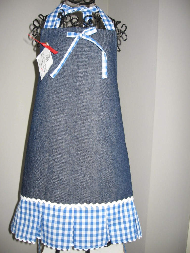 denim box pleat